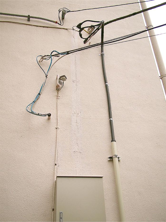 小金原団地ホームページ-引込電源ブレーカー・キャビネット改修工事竣工